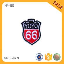EP-08 Kleid besticktes Etikett für Jeans und Kleidungsstück