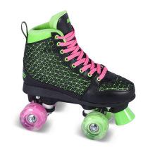 Soft Boot Quad Roller Skate para Adultos (QS-41)