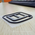 3D raised rubber silicone heat transfer label for garment