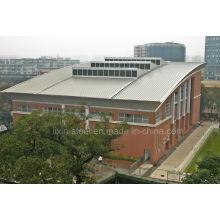 Структура стальных ферм Структура здания Центра Сопрата