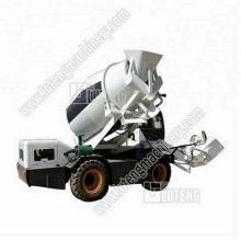 2.6 m3 Automatic feeding small concrete mixer truck