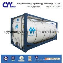 ISO Standard Asme Certification Oxygène Liquide Cryogénique Haute Pression Azote Argon Dioxyde De Carbone Conteneur De Réservoir Imo7 / T75