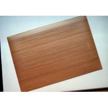 Hoja Decorativa de Grano de Madera de PVC