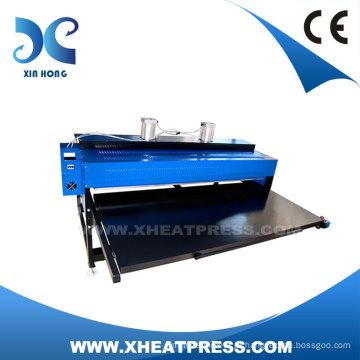 Máquina de transferência de calor de tela automática hidráulica para ouro/Metal placa/T-Shirt (FJXHB4-2)