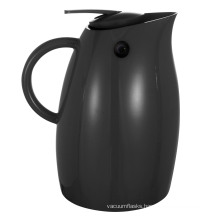 Stainless Steel Glass Lined Plastic Vacuum Jug Pgp-1000L Black