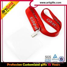 Teclas impresas aduana del cuello de la identificación del teléfono móvil del cuello llaves correa del acollador del cuello