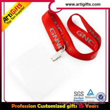 Custom printed neck mobile phone id card keys neck lanyard strap