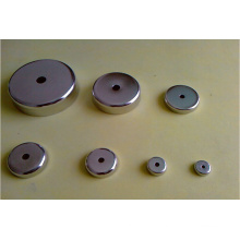 Permanent Neodymium NdFeB Pot Magnets with Hole