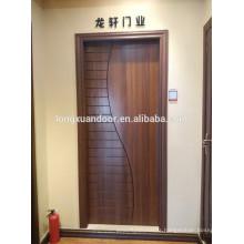 Porte de salle de bois, porte de salle de bois, design de porte en bois en teck