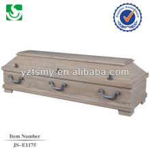 personalized traditional natural polished cheap coffins