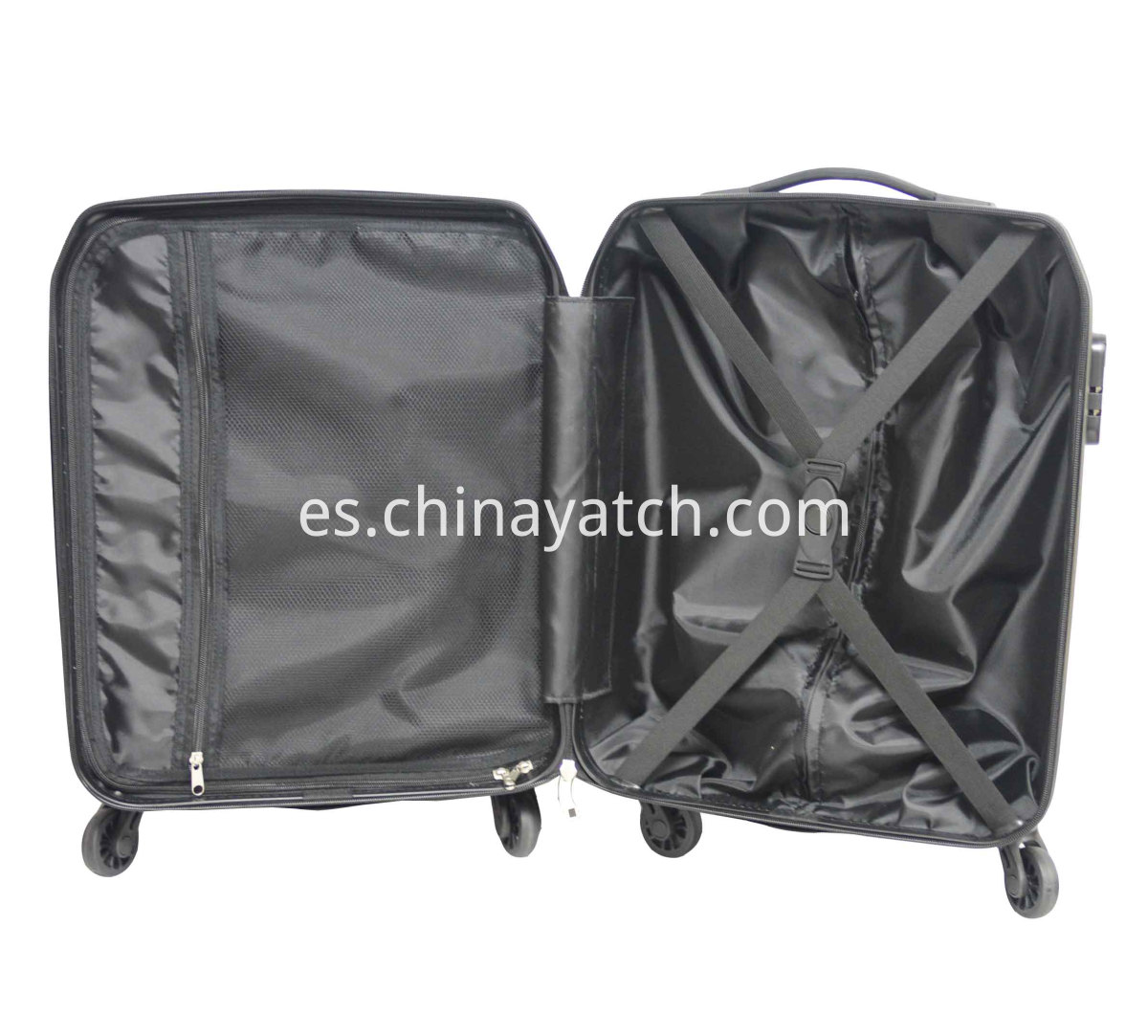 Anti-scratch alloy luggage