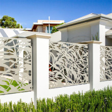 Laser Cut  Metal Privacy Fence Panels