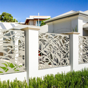 Laser Cut Metal Privacy Fence Panel