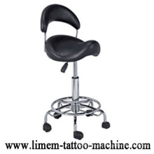 Ajustable Black Tattoo Stuhl Tattoo HockerTragbarer Tattoo Stuhl