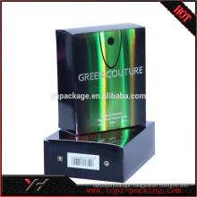 Wholesale cardboard men's perfume box packaging