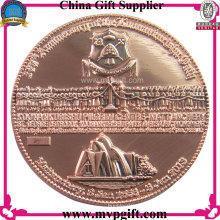 Металлическая монета с 3D-логотипом для религиозного подарка