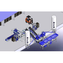 Fully Automatic Block Production Line (Open Type)