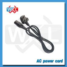 SABS ROHS alta calidad 6A 250V Sudáfrica cable de alimentación con C13 C14