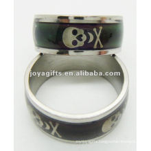 2013 new style stainless steel mood ring,discoloration ring