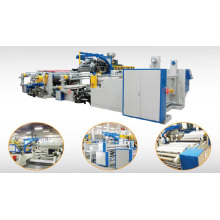 Lamination and multi-layer laminating combination machine