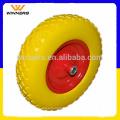 Cheios de espuma de PU de 4.80/4.00-8 roda contínua de carrinho de mão de borracha