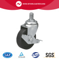Mini 2 25kg Threaded Brake PO Caster