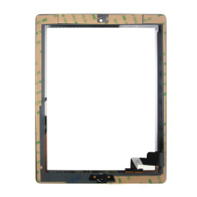 Vente en gros Black Touchscreen for iPad 2 Complete with Homebutton and Adhesive