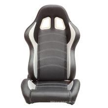 Fibra de carbono ajustable con asiento deslizante para carreras de automóviles
