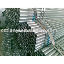 ASTM A179 tubos soldados galvanizados