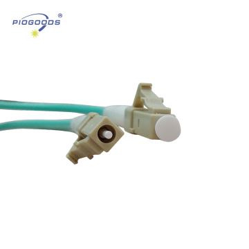 LC / UPC multi mode intérieure OM3 Connecteurs fibre optique PVC / LSZH veste 2.0mm 3.0mm usine de porcelaine fournisseur