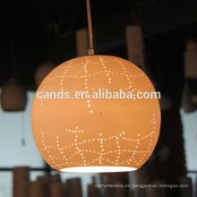 Lámparas colgantes populares de la decoración del hogar de la lámpara