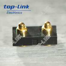 Connecteur de broche PTO SMT avec 2 contacts, broyeur de printemps