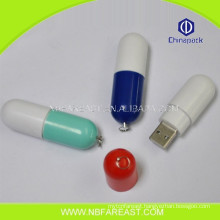 New dsign funny pill shaped usb colorful memory sticks