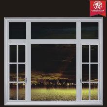 Opção infinita Custom Doors & Windows, French Window Grill Design, com alumínio ou moldura de madeira Escolha de qualidade