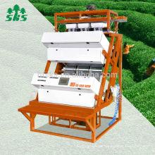 Tee-Verarbeitungsmaschine 1 Rutschen Kleine CCD-Kamera Tee Farbsortierer Teefarben-Sortiermaschine
