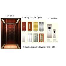 Miroir d'or Ascenseur de maison en acier inoxydable avec prix compétitif