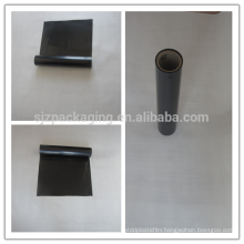black polyester film / aluminum foil black pet film
