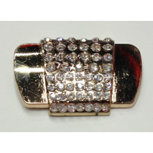 Stylish Shoe Buckles with Rhinestone