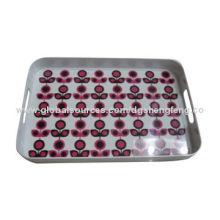 Melamine table tray