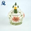 Hot Selling Cute Cock Shape Custom Home Decor Ceramic Coin Bank