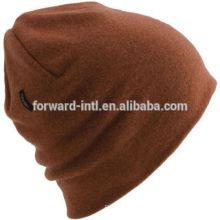 sombrero de las mujeres de la cachemira de la moda, sombrero de las lanas de la cachemira, sombrero hecho punto de las señoras