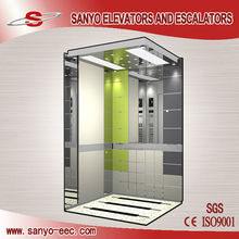Mirror Finish Safety Gear Elevator