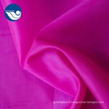 100% polyester, tissu de taffetas 190T / 210T