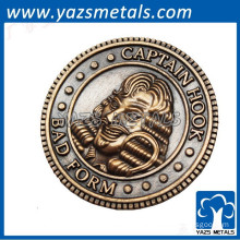 Promotion gift hot sailing old british indian coin