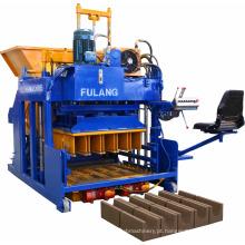 Máquina de fabricação de blocos de betão vibrado e hidráulico de ovos no Quénia