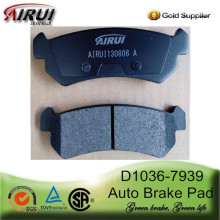 D1036-7939 Brake Pad for Buick, Chevrolet and Suzuki