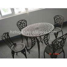 aluminum sand casting outdoor garden furniture set