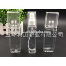 La botella de perfume caliente más nueva del aerosol del PET de la venta con la cubierta completa