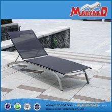 Neue Design-Outdoor-Möbel Mesh Stoff Strand-Sonnenliege