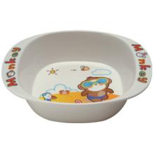 Utensílios de mesa para melamina infantil The Bowl with Ears (BG2085)